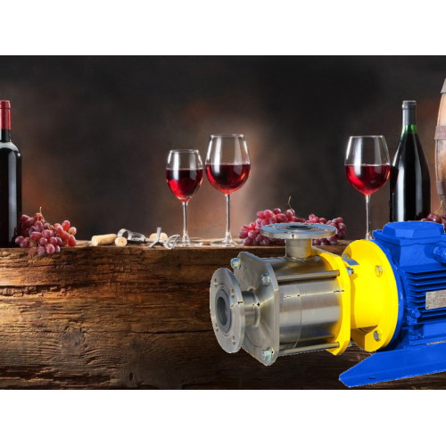 Насос для алкогольных напитков (вина, водки, виски, пива)